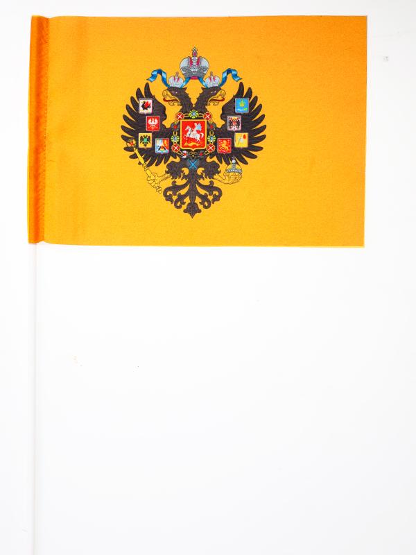 Флажок на палочке «Герб Российской империи»