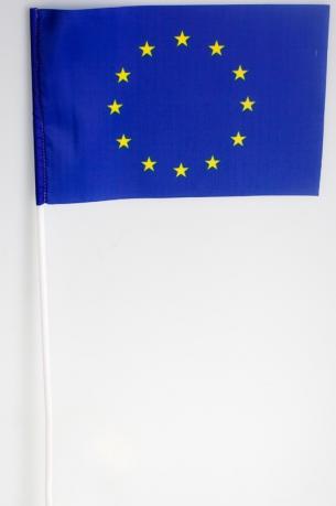 Флажок Евросоюза на палочке