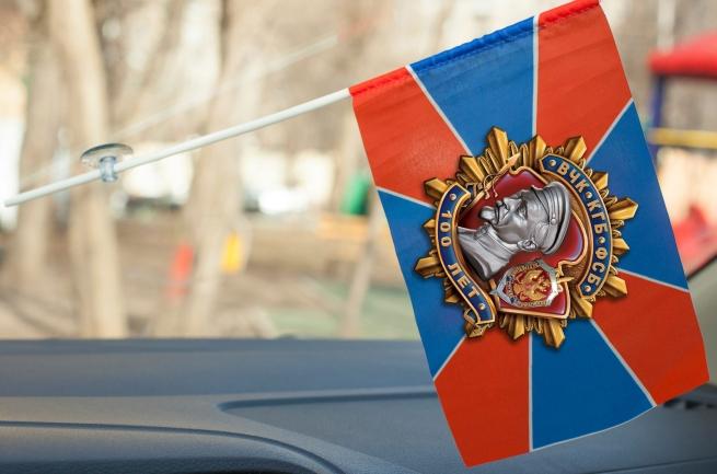 Флажок к 100-летию ФСБ в машину