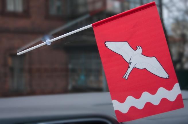 Флажок Красноуфимского района в машину
