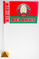 Флажок Республики Беларусь с гербом