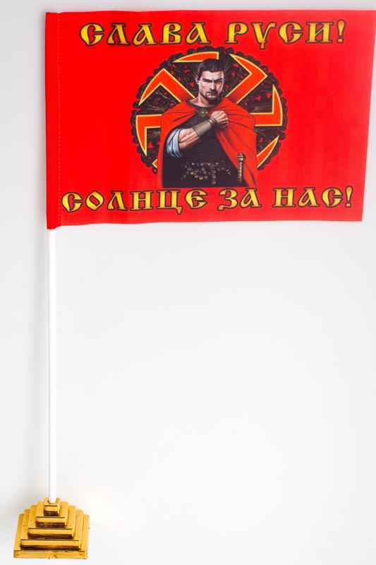 Флажок настольный Коловрат «Слава Руси»