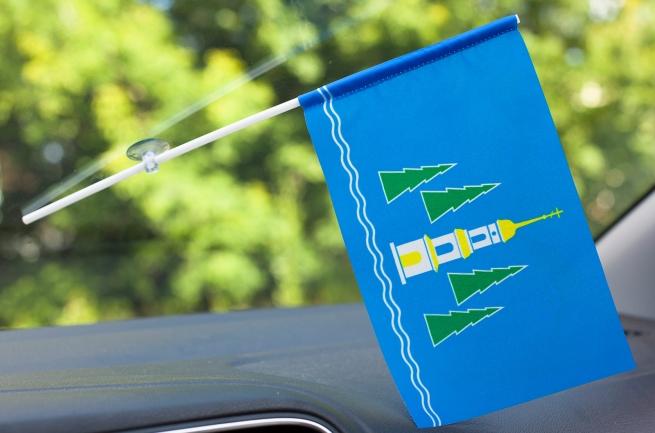 Флажок Раменского района в машину