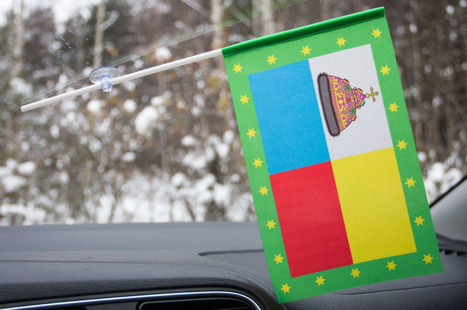 Флажок Тамани в машину