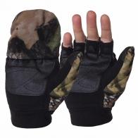Флисовые перчатки-варежки с откидным верхом Thinsulate