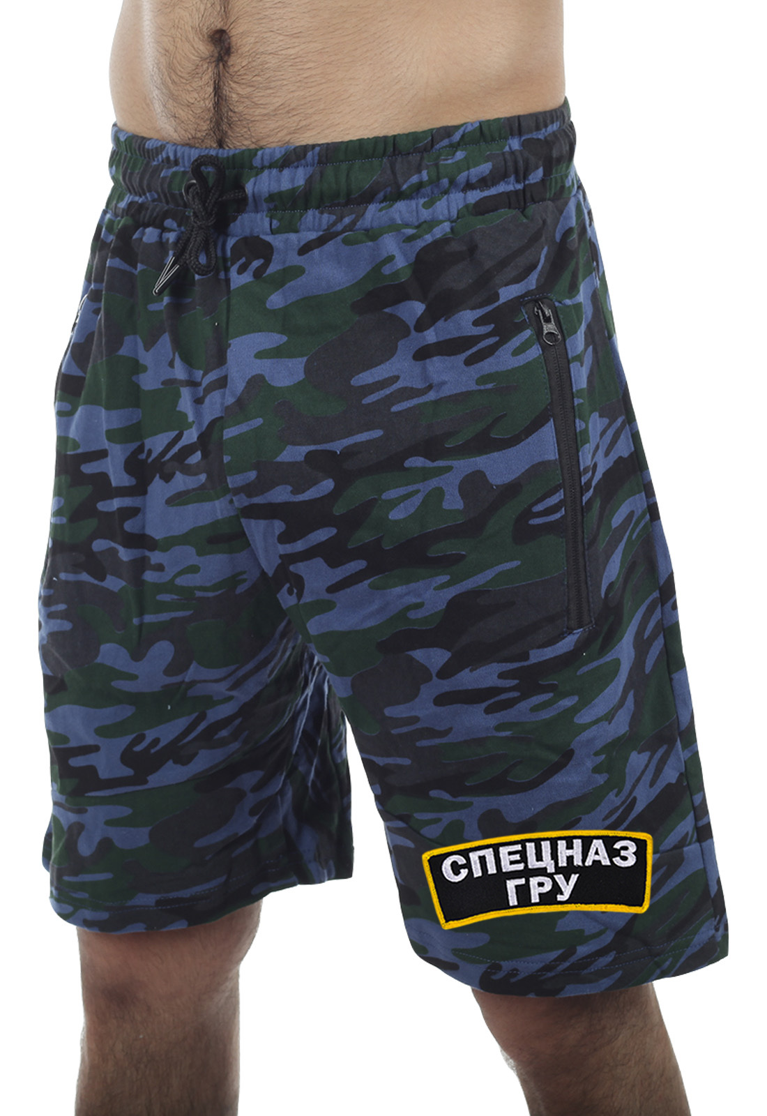 Военные мужские шорты бойца Спецназа ГРУ