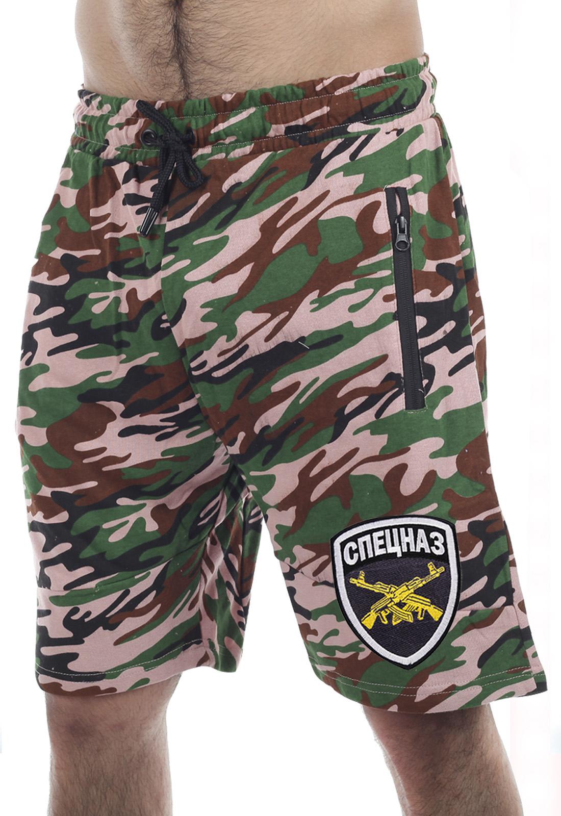 Недорогие шорты Спецназа в камуфляже