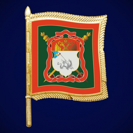 Фрачный значок Енисейского казачьего войска