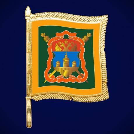 Фрачный значок казака Иркутского войска