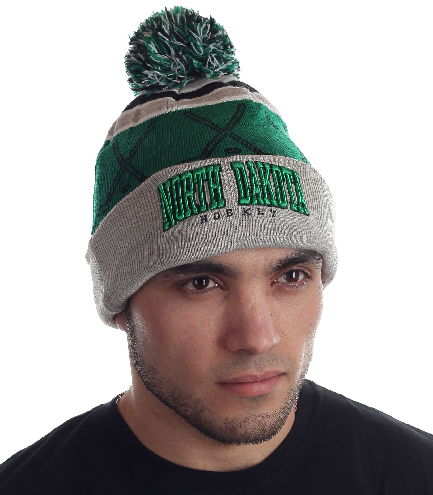 Функциональная мужская шапка пылким поклонникам спорта с бубоном