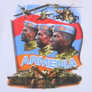 Футболка армянская с авторским принтом