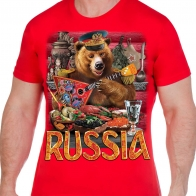 """Футболка болельщика """"Russia"""""""