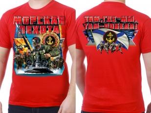 """Заказать футболки """"Девиз Морской пехоты"""""""