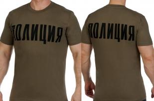 Заказать футболки «Полиция»