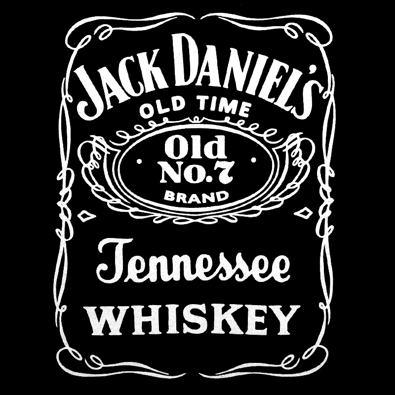 Футболка «Jack Daniels» с логотипом