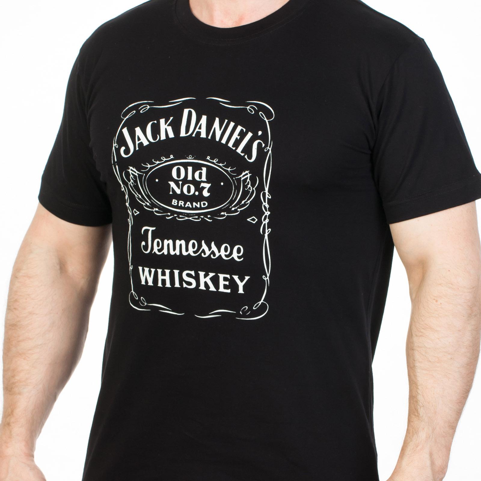 Футболка «Jack Daniels» черная