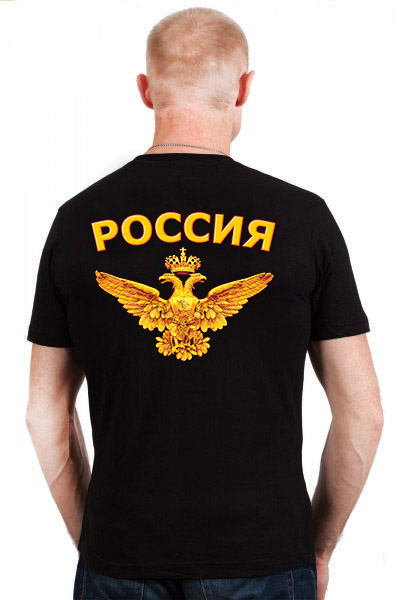 Футболка Кадыров - вид сзади