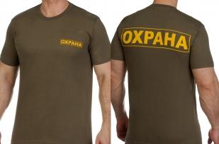 Заказать футболки «Охрана»