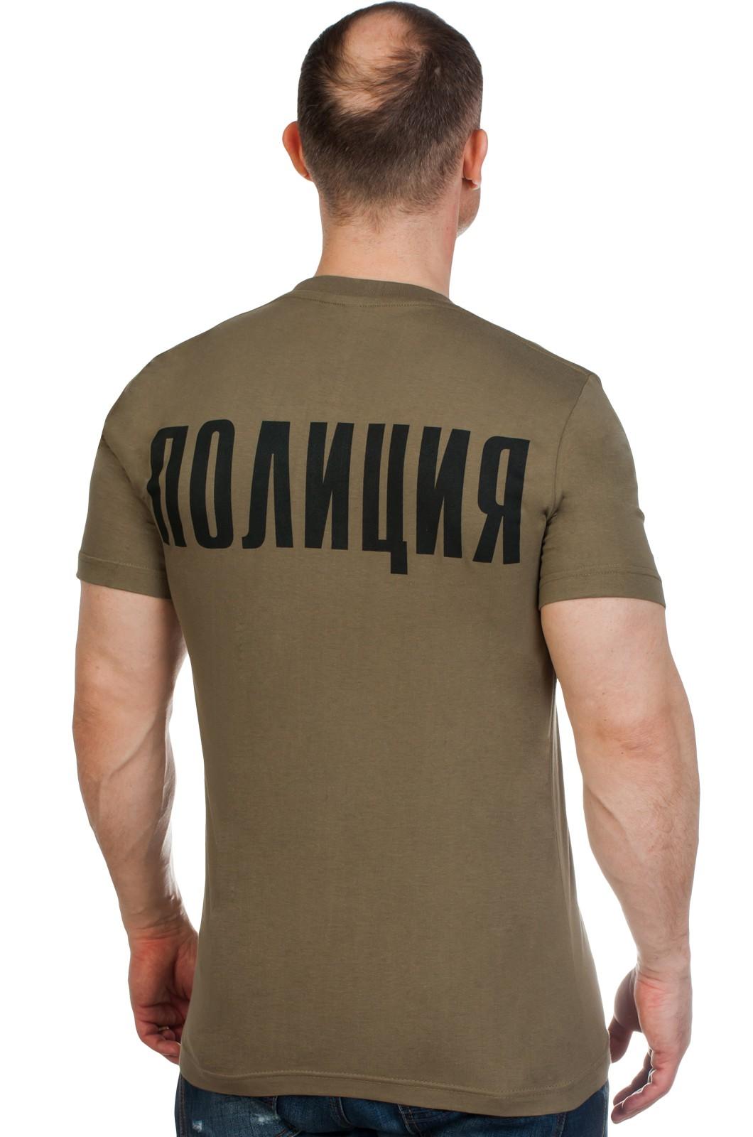 Футболка Полиции с гербом МВД по сниженной цене