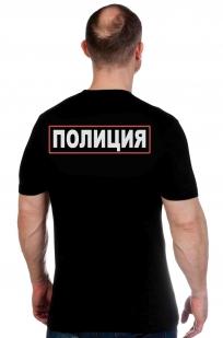 Футболка Полиции с вышитым гербом МВД России по лучшей цене