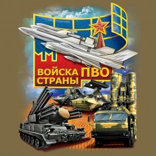 Футболка ПВО России - принт