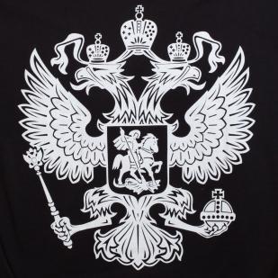 Футболка «RUSSIA» чёрная