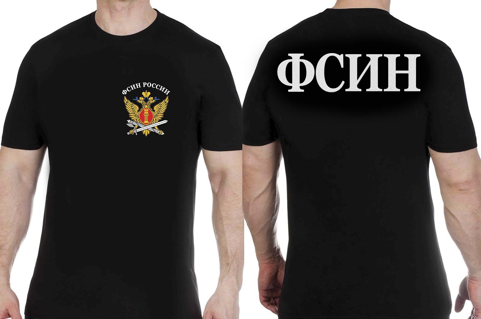 Заказать футболку с гербом ФСИН России