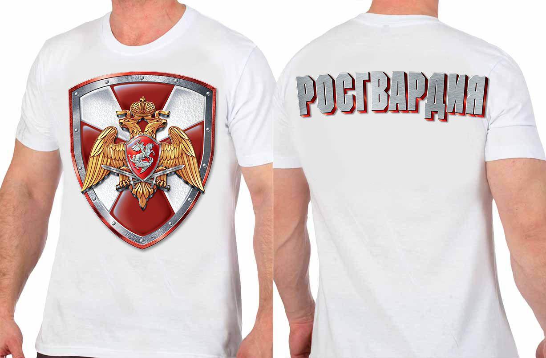 Заказать футболки с надписью Росгвардия
