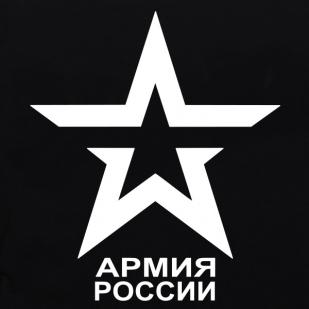 Футболка с символом Российской Армии-логотип