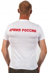 """Футболка """"Солдаты России""""-вид со спины"""