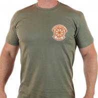 Для патриотов! Мужская футболка СВЯТАЯ РУСЬ