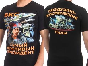 Заказать футболки ВКС с Путиным