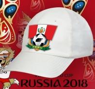 Футбольная кепка Перу.