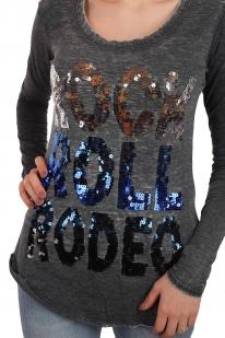 Удлиненный женский реглан Rock and Roll Cowgirl. Так любимый Москвой стиль ГРАНЖ! Дерзи и эпатируй, детка