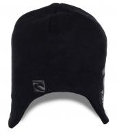 Глубокая стильная с ушками мужская шапка Ripcurl отменный дизайнерский недорогой вариант