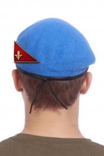 Заказать голубой берет десантника с уголком