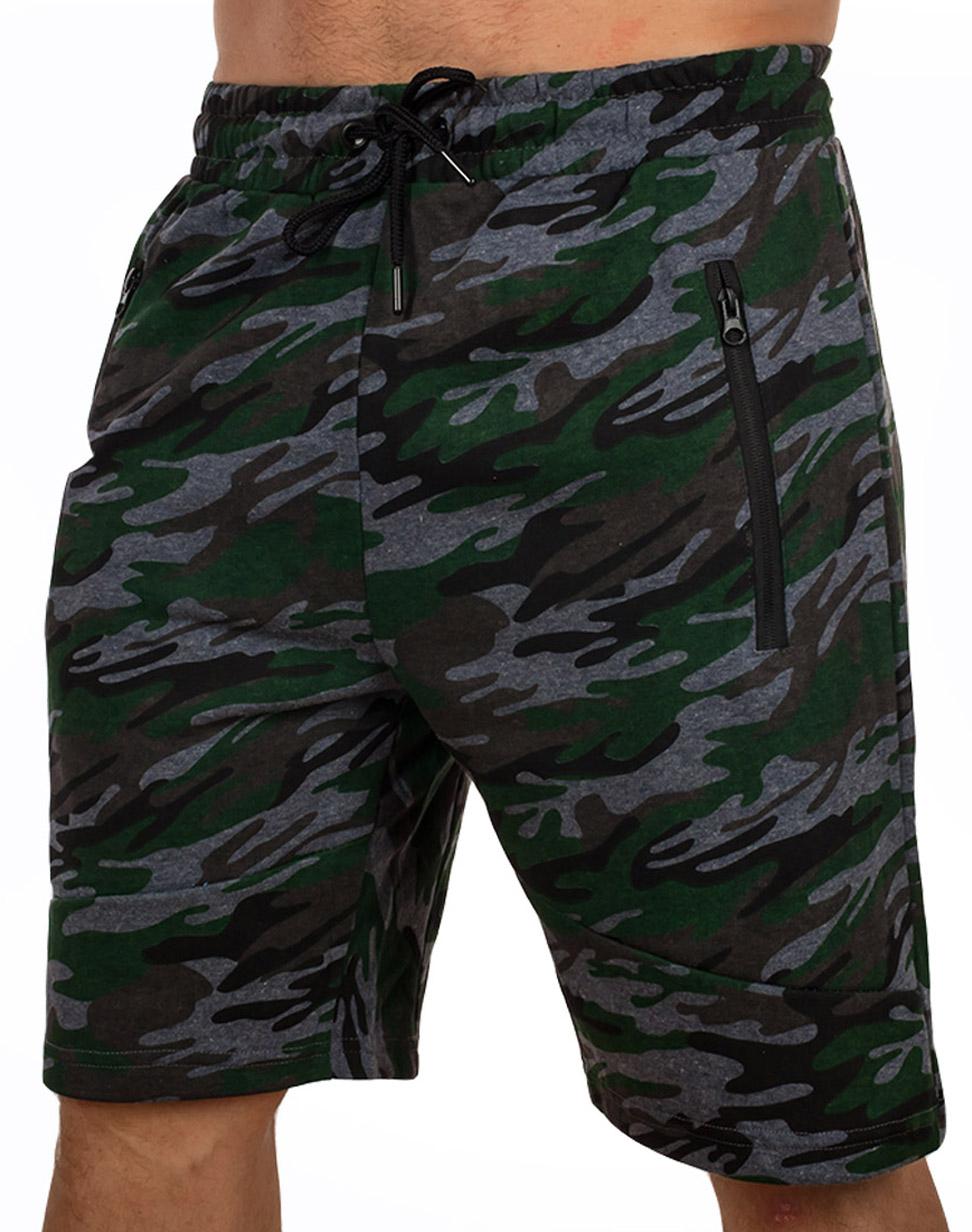 Купить в Москве мужские шорты цвета хаки