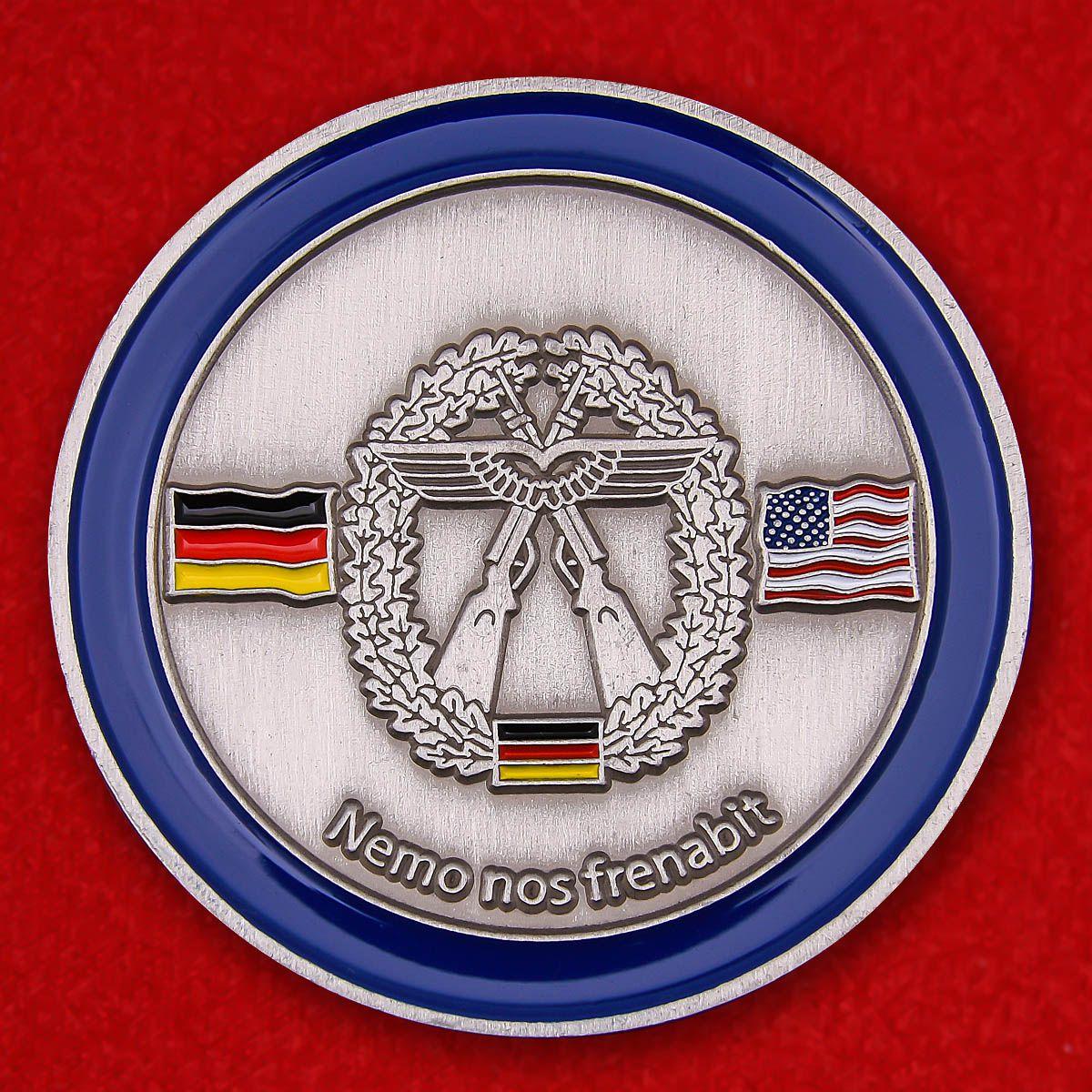 """Herausforderungs-Münze """"Taktisches Luftwaffengeschwader 33"""""""