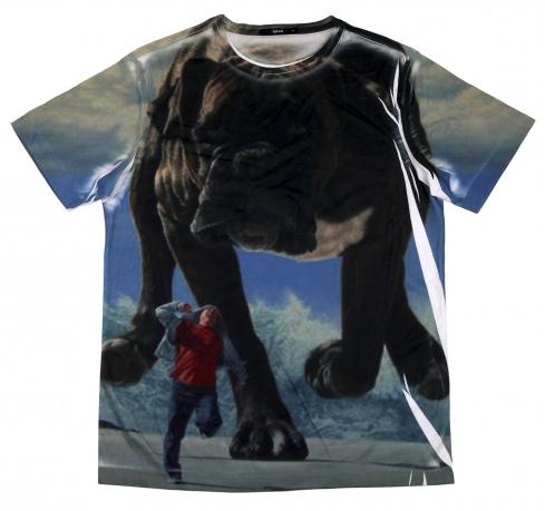 Хлопковая футболка Splash для ценителей оригинальности