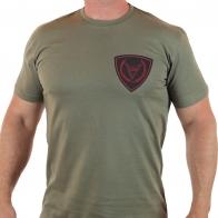 Хлопковая футболка с древнерусским символом Велеса