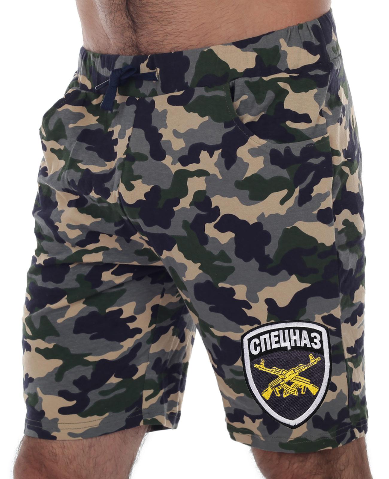 Недорогие шорты Спецназа с карманами, пояс резинка