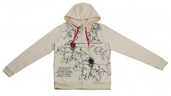 Худи с далматинцами от Disney - модная и симпатичная модель отличного качества