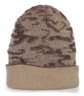 Уникальная мужская зимняя шапка
