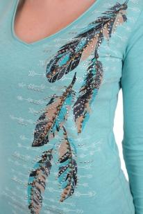 Изящная женская кофта реглан. Свежий лук от дизайнеров Panhandle. Незаезженный принт и человеческая цена. Чтобы быть модной, продавать почку не нужно!