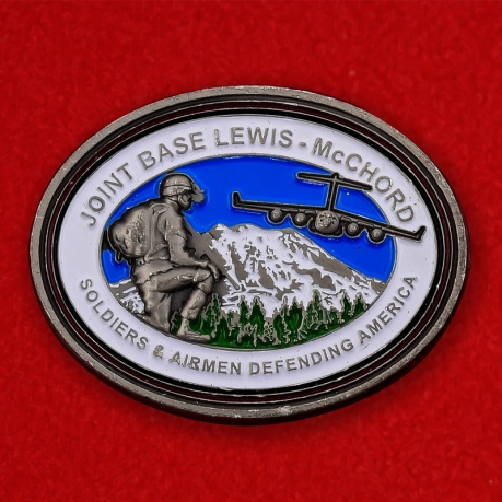 Joint Base Lewis-McChord Air Expo 2012 Challenge Coin - obverse