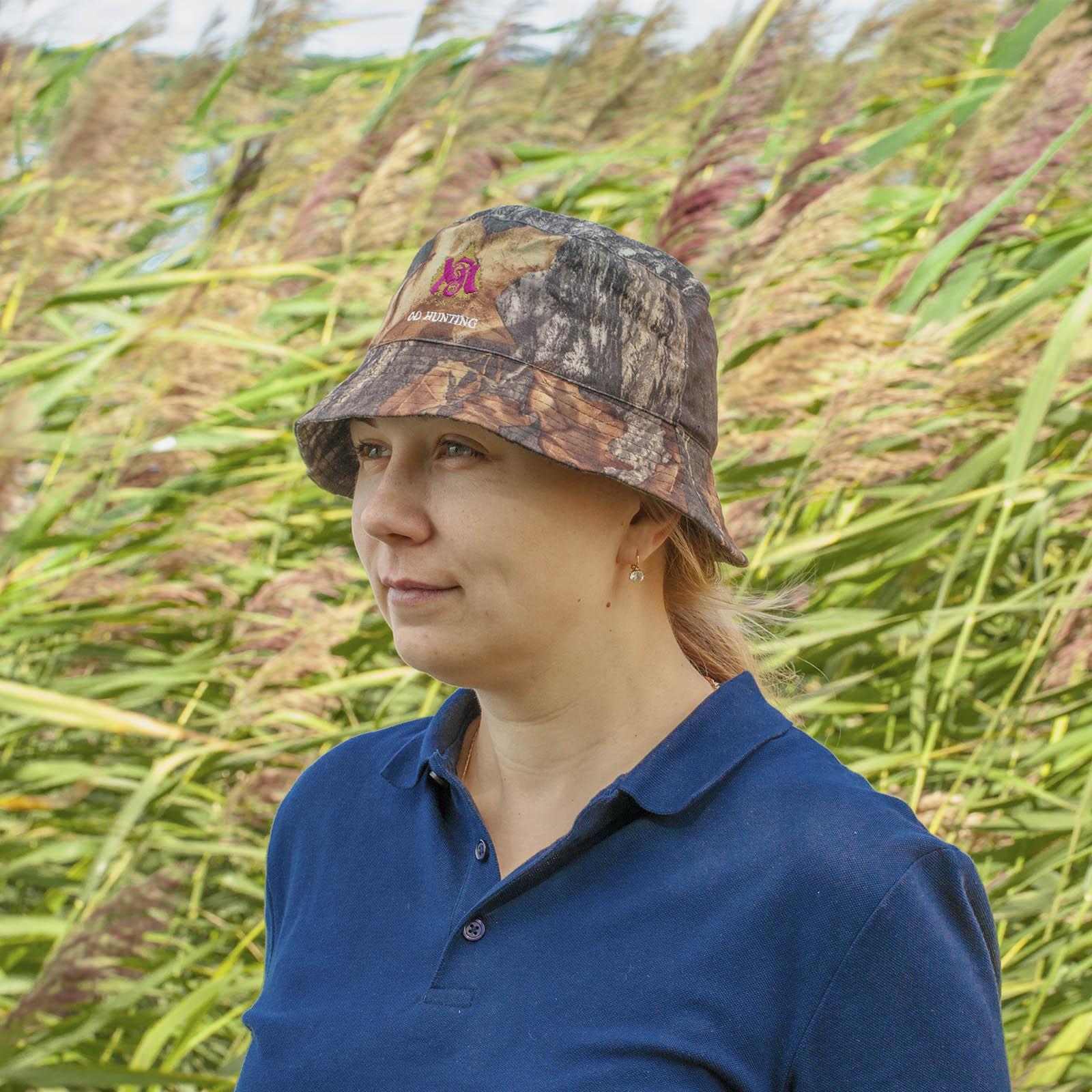 Купить в Военпро камуфляжную панаму Go Hunting для охотника, рыбака, туриста