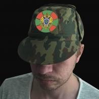 Камуфляжная форменная кепка с вышивкой Пограничная Служба