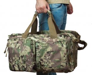 Камуфляжная походная сумка Ни пуха, Ни пера - заказать оптом