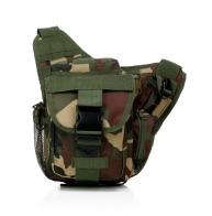 Камуфляжная тактическая мужская сумка на плечо