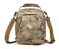 Камуфляжная тактическая сумка через плечо